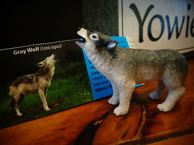 Yowie Yowies * BRAND NEW, GRAY WOLF * + PAPERS