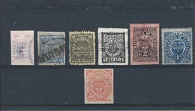 Colombia. 1805-1902. 7 Stamps. . Fine Used