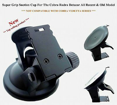 *Super Grip Suction Cup For The Cobra Radra Detector All Recent New & Old Models