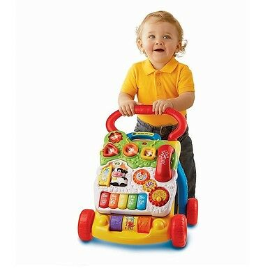 New Baby Walker Toddler Toy First Steps Musical Numbers Lights Learning Music