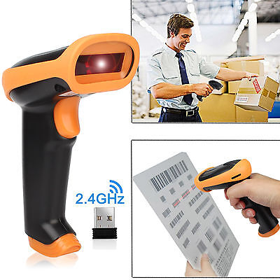 (256 KB) Wireless Barcode Scanner Reader For Apple IOS Android Win10 Win7/8