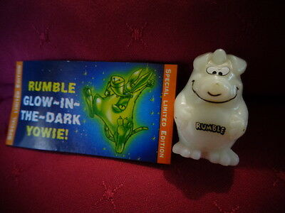 Yowies Series 8 FORGOTTEN FRIENDS A * RUMBLE * LIMITED EDITION