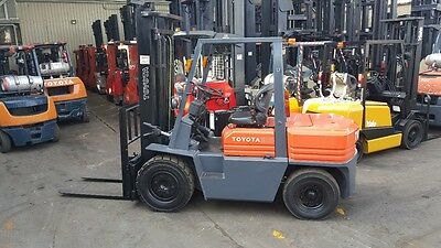 Toyota 5FD35 Diesel Forklift 3.5 Ton 3.5m Lift Refurbished $13599+GST Negotiable