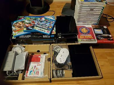 Wii U and Wii Console with loads of games!