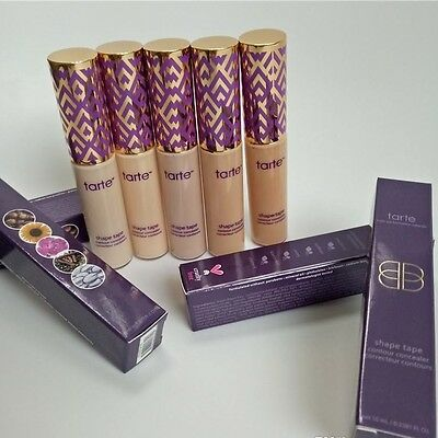 Tarte Shape Tape Contour Concealer 5 Shades Available 10ml BNIB -UK- Seller.