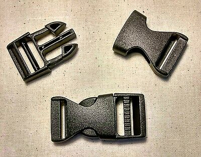 5 x 20mm Plastic Side Release Buckles 4 Dog Collars Back Packs  **FREE POST**