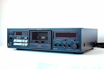 Very Beautiful!! SONY TC-K333ESX  Stereo Cassette Deck Dolby NR  Good condition!
