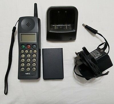 Vintage Nec P100 Analogue Mobile Phone