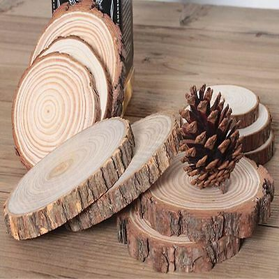 Decor Rustic Landscaping Home Decoration DIY Craft Accessories Coasters