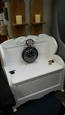 Hand Crafted Monks Bench Settle Hall Seat