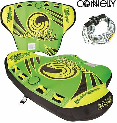 CONNELLY Rapor 2 Towable Tube for 2 persons Tow ring Inflatable Package