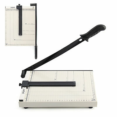 A4 Paper Cutter Slicer Guillotine Home Office Guide Lines Grid Measure