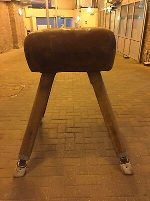 Vintage Gym Pommel Vaulting Horse Old School Industrial Loft Style Bar Shop