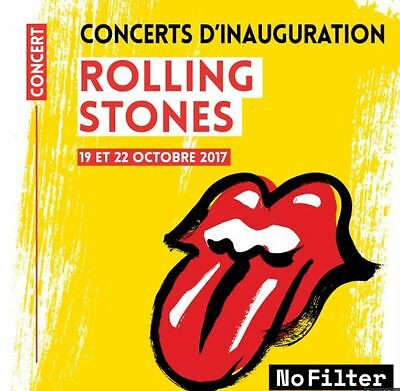 1 place assise concert Rolling Stones 19.10.2017 U ARENA