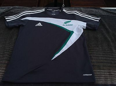 ALL BLACKS S Jersey Polo Shirt Super Rugby Union NZ Football ADIDAS New Zealand