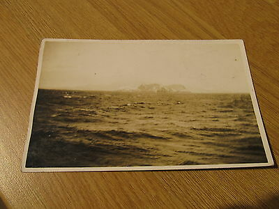 Very Old Vintage Gibraltar 'The Rock' From The Sea Jerome Ltd. Postcard