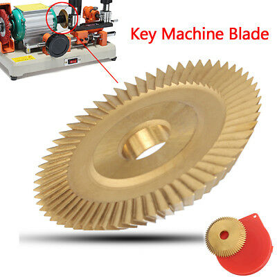 60x7.3x12.7mm Blade Key Cut Machine Disc Craftsman Cutting Cutter Tool w/ Case