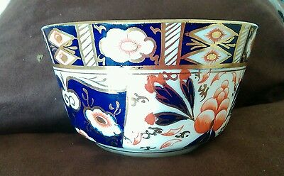 Vintage/antique Sutherland China Sugar Bowl In The Imari Design