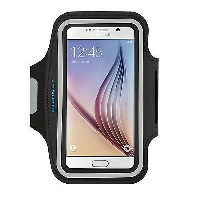 eTEKNIC Samsung Galaxy s5 s7 s6 Edge Armband For Running Sport Fitness Gym Case