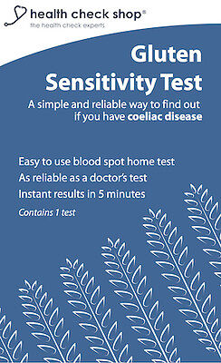 Gluten Sensitivity Test for Coeliac Disease Home Test Kit