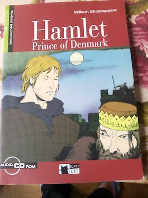 """Hamlet Prince of Denmark"", William Shakespeare, Black CAT, Step Two B1.1 con CD"