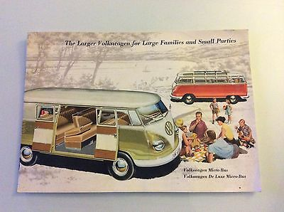 VW Kombi Brochure