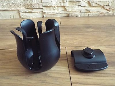 QUINNY CUP HOLDER and CLIP - FITS TO PUSHCHAIR QUINNY MOODD, BUZZ, BUZZ XTRA