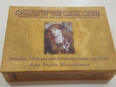 Oracle of the Grail Code Book and Card Set - Like New Used Once