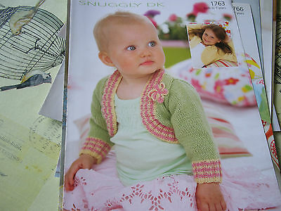 New Knitting Patterns Sirdar Etc 0-3-7-13 Years Bundle Of 64 Approx 60 New Dk