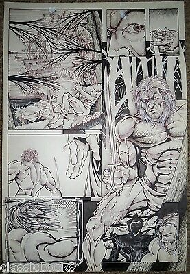 Barnabus Sins Of Honor #2 Complete 2nd Story Original  Art