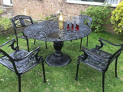 Cast Iron Garden Table And Chairs