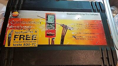 Testo 325-M Combustion Flue Gas Analyzer With Printer