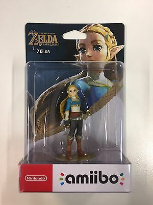 Zelda Amiibo - Breath of the Wild. Australian PAL Edition. Local. Factory Sealed