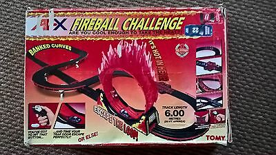 Rare Boxed Tomy Aurora AFX - Fireball Challenge Set. Complete