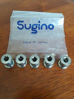 sugino chainring bolts nos x5