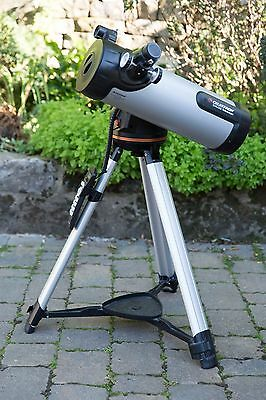 Celestron 114 LCM Computerised Reflector Telescope + Celestron AstroMaster Kit