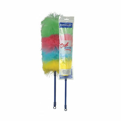 Astonish Anti Static Hygienic Dust Buster Feather Duster Washable Long lasting
