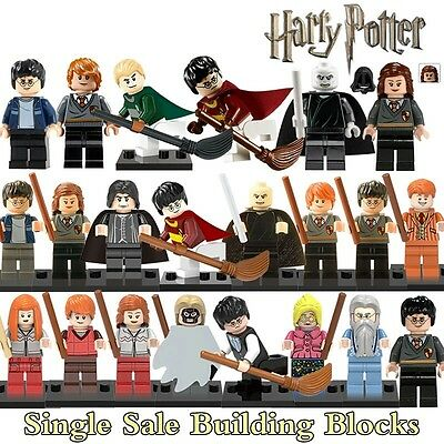 Single Harry Potter Hermione Ron Lord Voldemort Draco Malfoy Building Blocks New
