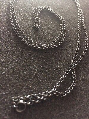 Trollbeads Sterling 925 Silver Fantasy Necklace Chain 90cm New Ex Shop Stock