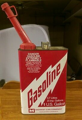 Midwest Can Company 1 Gallon Gas Can With Spout