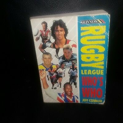 Who's who of Rugby League paperback