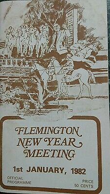 1982 New Years Day Race Book (Perth Cup)