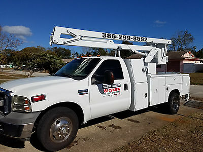2006 Ford F-350 Diesel 42' Bucket Boom Service Utility Sign Truck