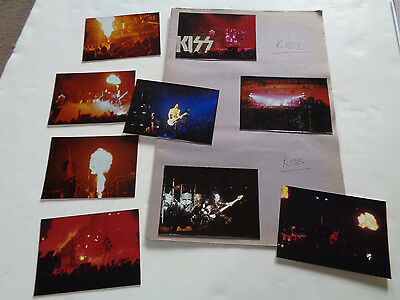 Kiss Nine Original And Unseen 1975 Tour Photographs Taken By Thin Lizzy Roadie