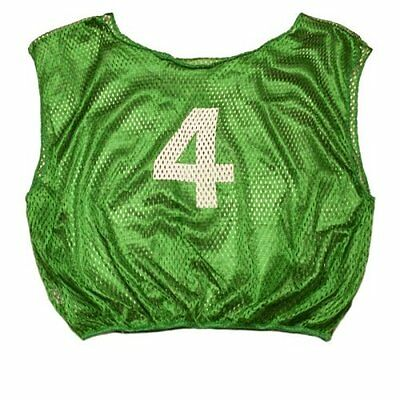 Champion Sports Practice Numbered Scrimmage Vests Pack of 12 Green