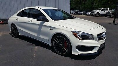 2014 Mercedes-Benz CLA-Class Base Sedan 4-Door 2014 MERCEDES-BENZ CLA45 AMG*TURBO*355HP*CARFAX 1-OWNER*$0 DOWN / $622 MONTH