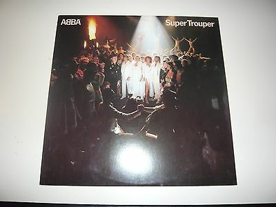 Abba Super Trouper LP Vinyl Record Album