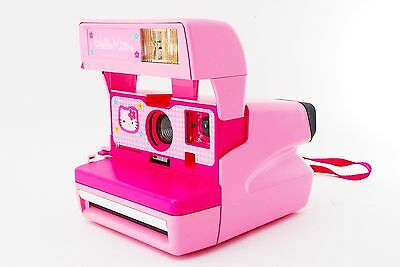 Rare Sanrio Hello Kitty Polaroid Pink Camera [Excellent] From Tokyo Japan