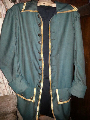 18th century Russian Frock Coat Preobrazhensky Regiment inspired by for Theater