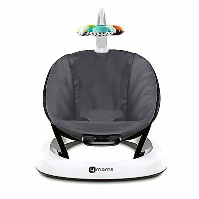 4moms bounceRoo, Bouncer Seat Dark Grey Classic NEW IN RETAIL BOX (Newest Model)